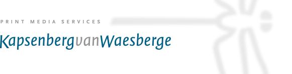 Kapsenberg van Waesberge bv